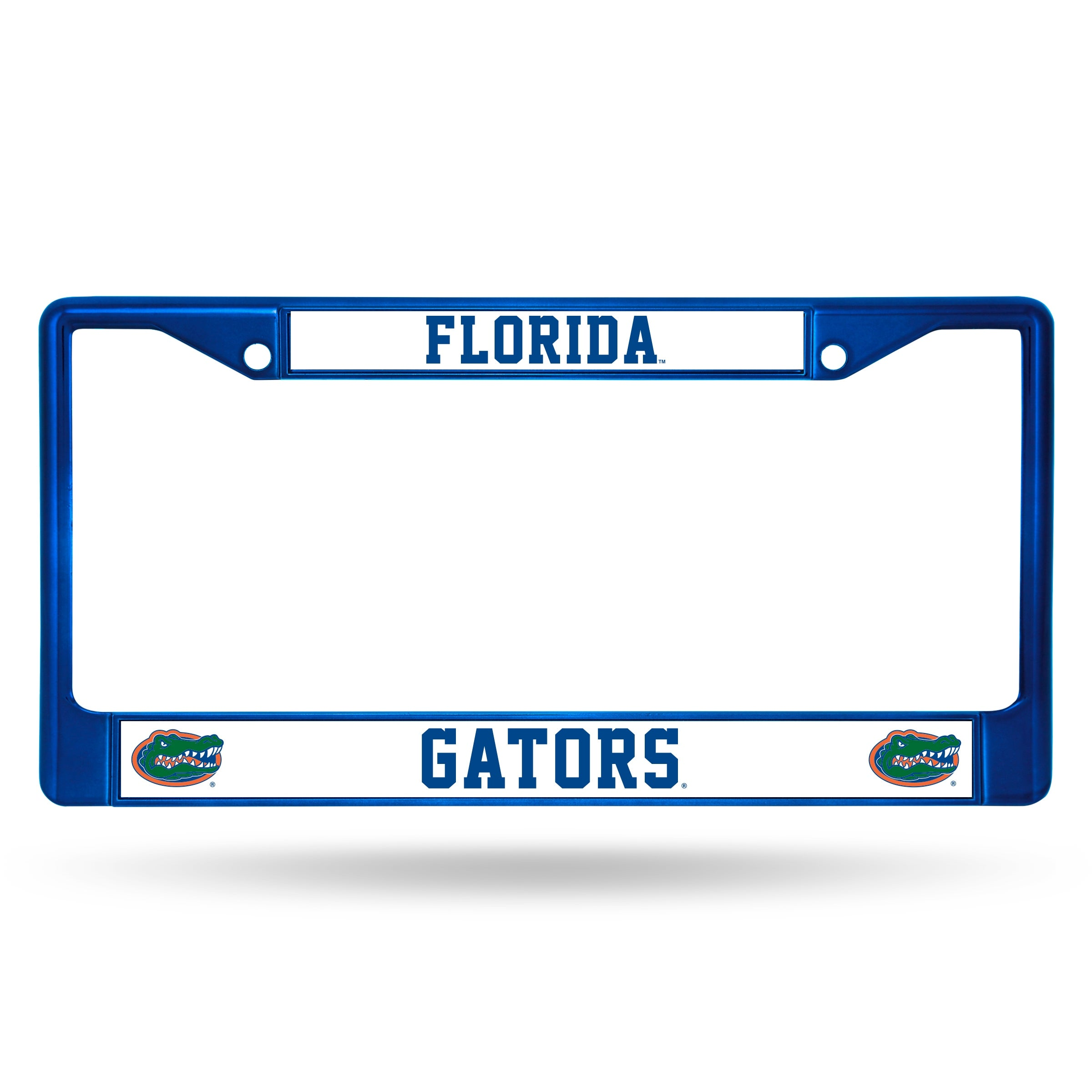 Florida Gators Metal License Plate Frame - Blue - Free Shipping On ...