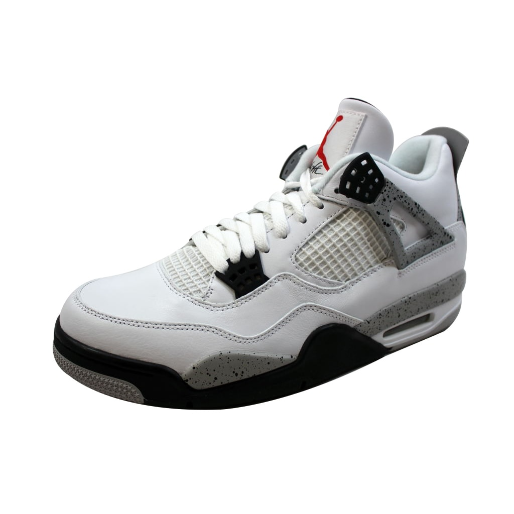 378298c3fc1a Shop Nike Men s Air Jordan IV 4 Retro OG White Fire Red-Black-Tech Grey  White Cement 840606-192 - Ships To Canada - Overstock - 19507407