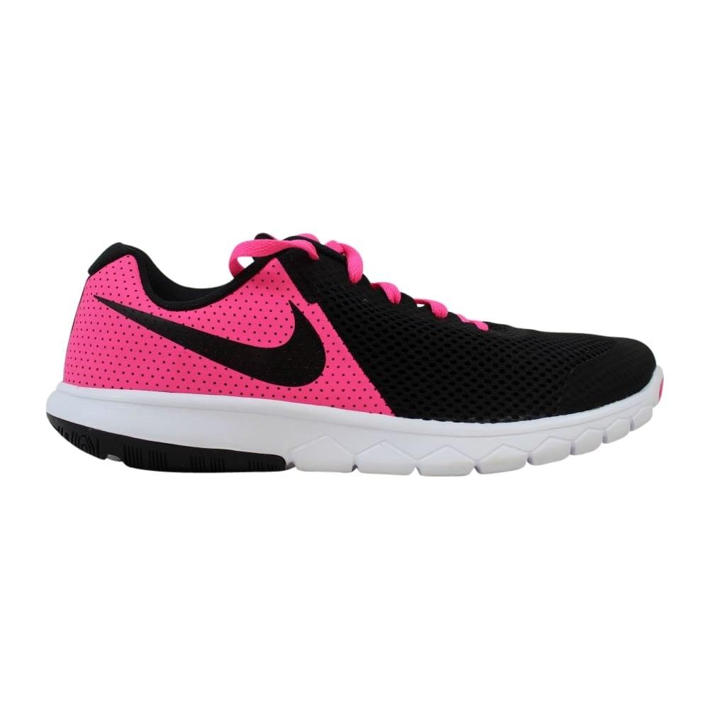 newest 3e0aa 58052 Nike Flex Experience 5 Pink Blast Black-White 844991-600 Grade-School