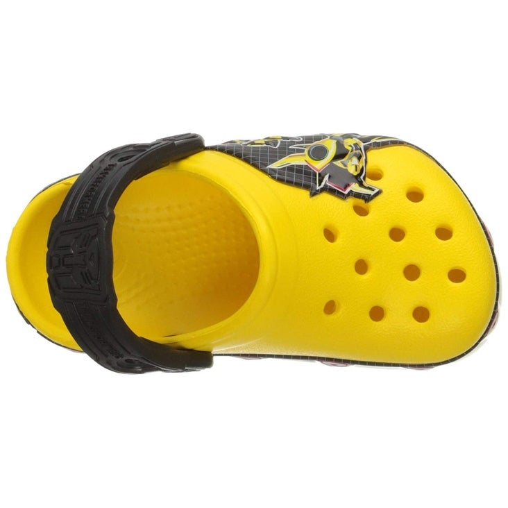 8d0e286f5c91 Shop Crocs Boys  CB Transformers Bumblebee Clog - 4-5 m us toddler - Free  Shipping On Orders Over  45 - Overstock - 25980423