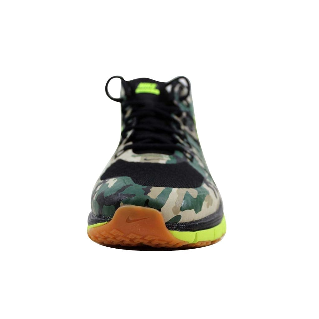 release date d2a3d 4cb69 Shop Nike Men s Air Max TR180 AMP Black Volt-Gum Med Brown 723973-072 Size  10.5 - Free Shipping Today - Overstock - 22340280
