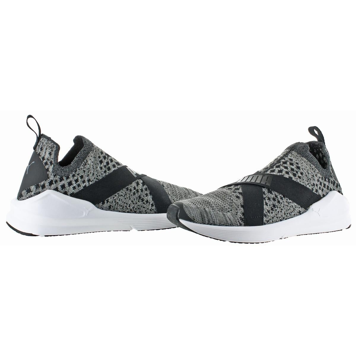 Shop Puma Womens Fierce evoKNIT Fashion Sneakers Round Toe Casual ... 6190ccf80