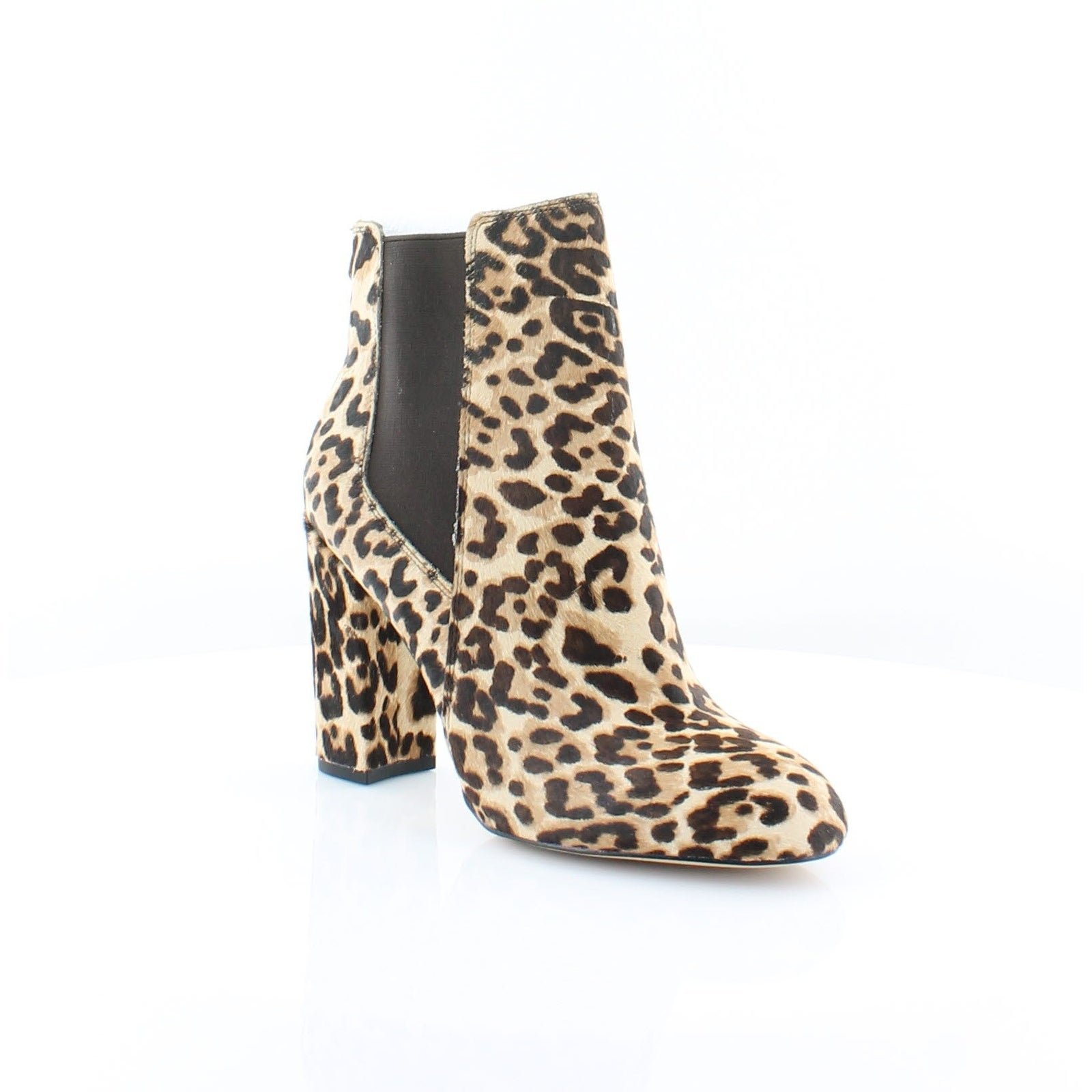 ccaac2bab Shop Sam Edelman Case Women s Boots Sand Leop - Free Shipping Today -  Overstock - 25656139