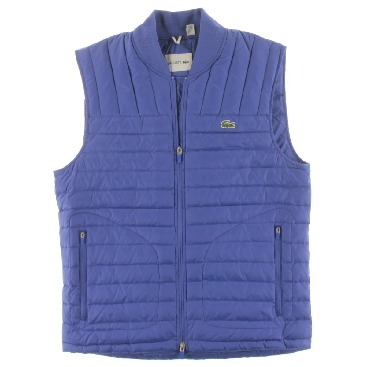 233c4e146727 Shop Lacoste Mens Outerwear Vest Ripstop Down - Free Shipping Today -  Overstock - 20751065