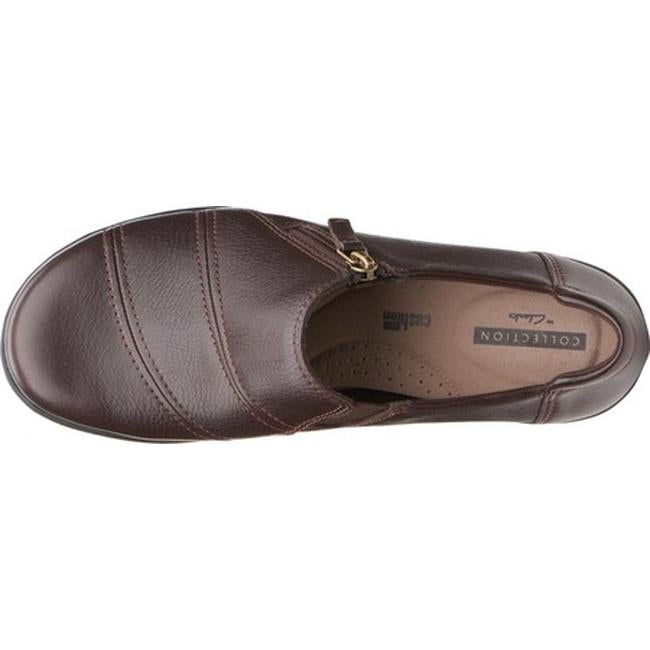 8708154869c Shop Clarks Women s Cheyn Clay Loafer Brown Leather - On Sale - Free  Shipping Today - Overstock - 25484287