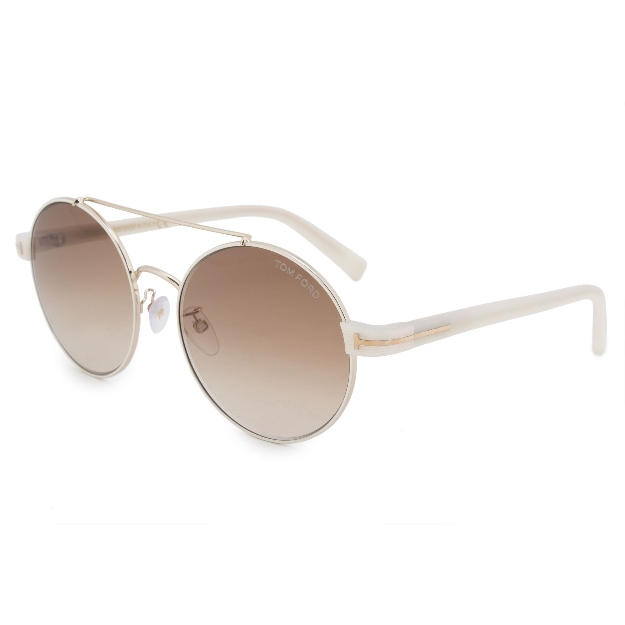 1f298a8295 Shop Tom Ford Round Sunglasses FT0486-D 33F 55 - Free Shipping Today -  Overstock - 24240740