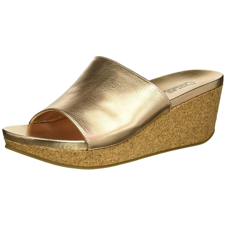 dd40c8484e9b Shop Carlos by Carlos Santana Women s Delphina Wedge Sandal - Free Shipping  On Orders Over  45 - Overstock - 22810507
