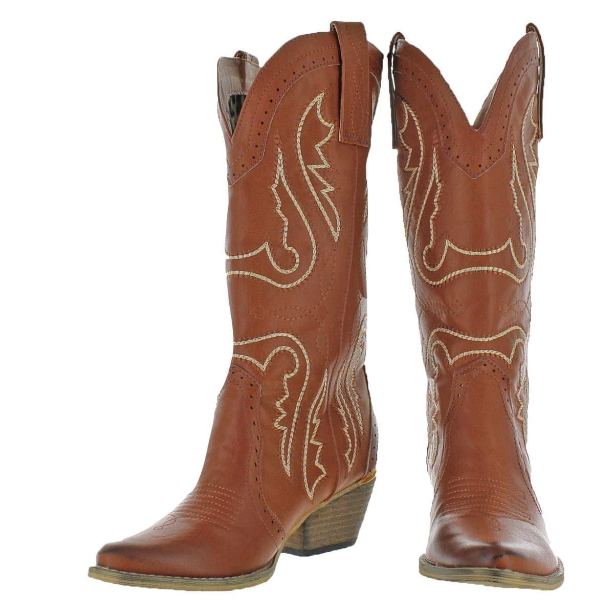 23c074bcbea Very Volatile Womens Raspy Cowboy, Western Boots Mid Calf Pull On