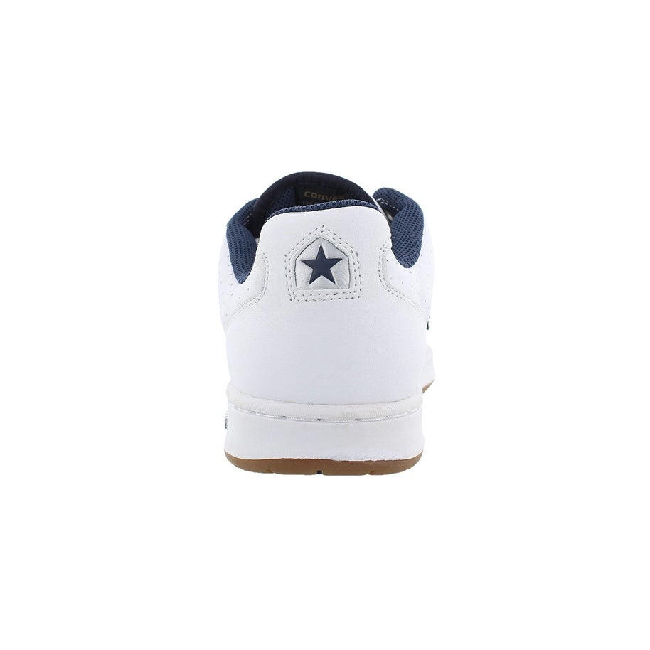 cd12c50fe5a8 Shop Converse Karve Ox Skate Shoes White navy Sz - Free Shipping On Orders  Over  45 - Overstock - 27731834