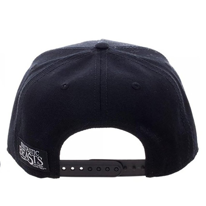 ac977965ea8 Shop Fantastic Beasts and Where to Find Them Macusa Shield Black Snapback  Hat - multi - Free Shipping On Orders Over  45 - Overstock.com - 15613787