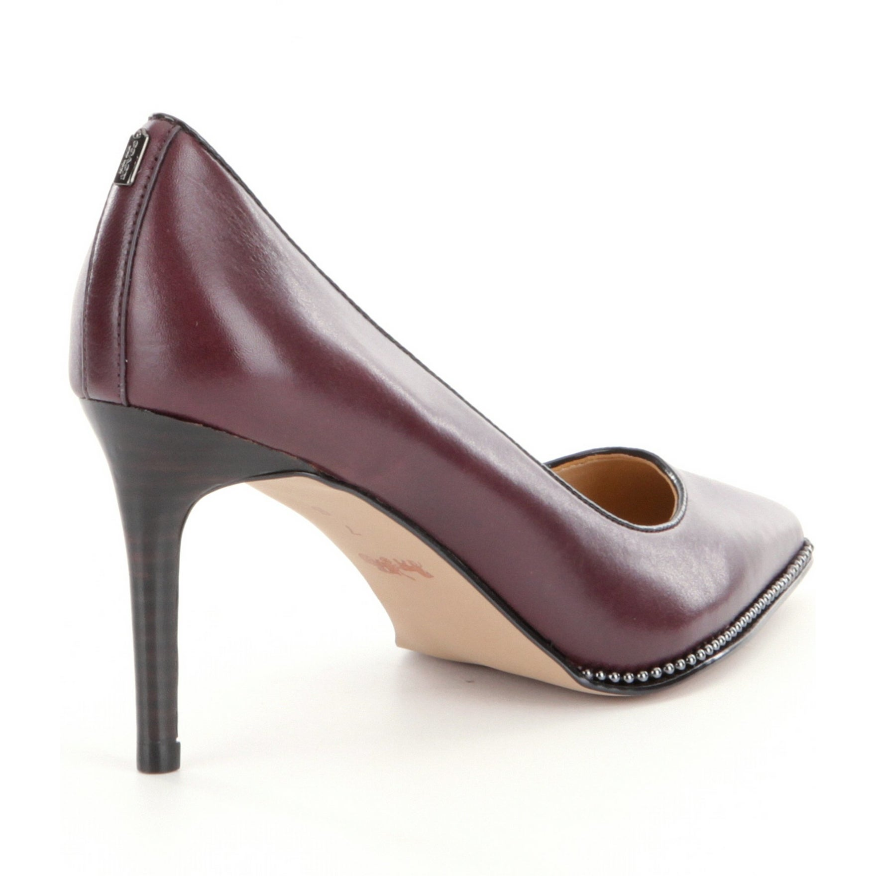 8d0735b9414 Shop Coach Womens Vonna Pointed Toe Classic Pumps - Free Shipping Today -  Overstock - 17127894