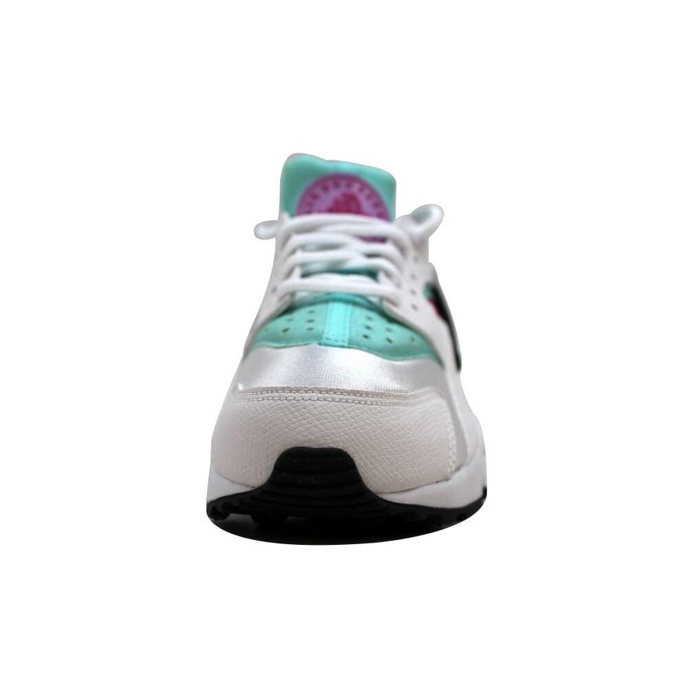 dfc23c483d130 Shop Nike Air Huarache Run White Fuchsia Flash-Artisan Teal 634835-104  Women s - Free Shipping Today - Overstock - 19508117