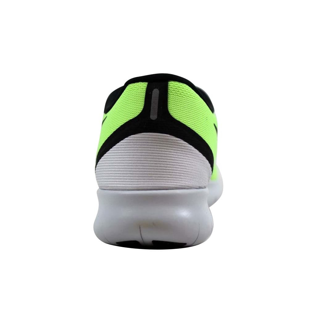 39617f2a4585 Shop Nike Men s Free RN Ghost Green Black-Blue Moon 831508-302 Size 6 -  Ships To Canada - Overstock - 22340198