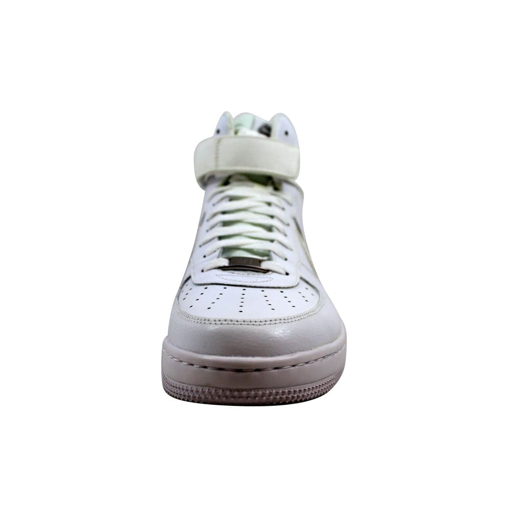 0f21fe3d76d Shop Nike Women s Air Force 1 Ultra Force Mid ESS White White-Wolf Grey  749535-100 - On Sale - Free Shipping Today - Overstock - 21893358