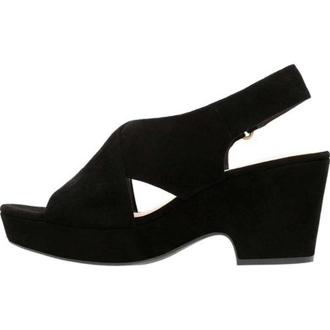 1e48b87930d Shop Clarks Women s Maritsa Lara Platform Sandal Black Suede - Free  Shipping Today - Overstock - 20594316