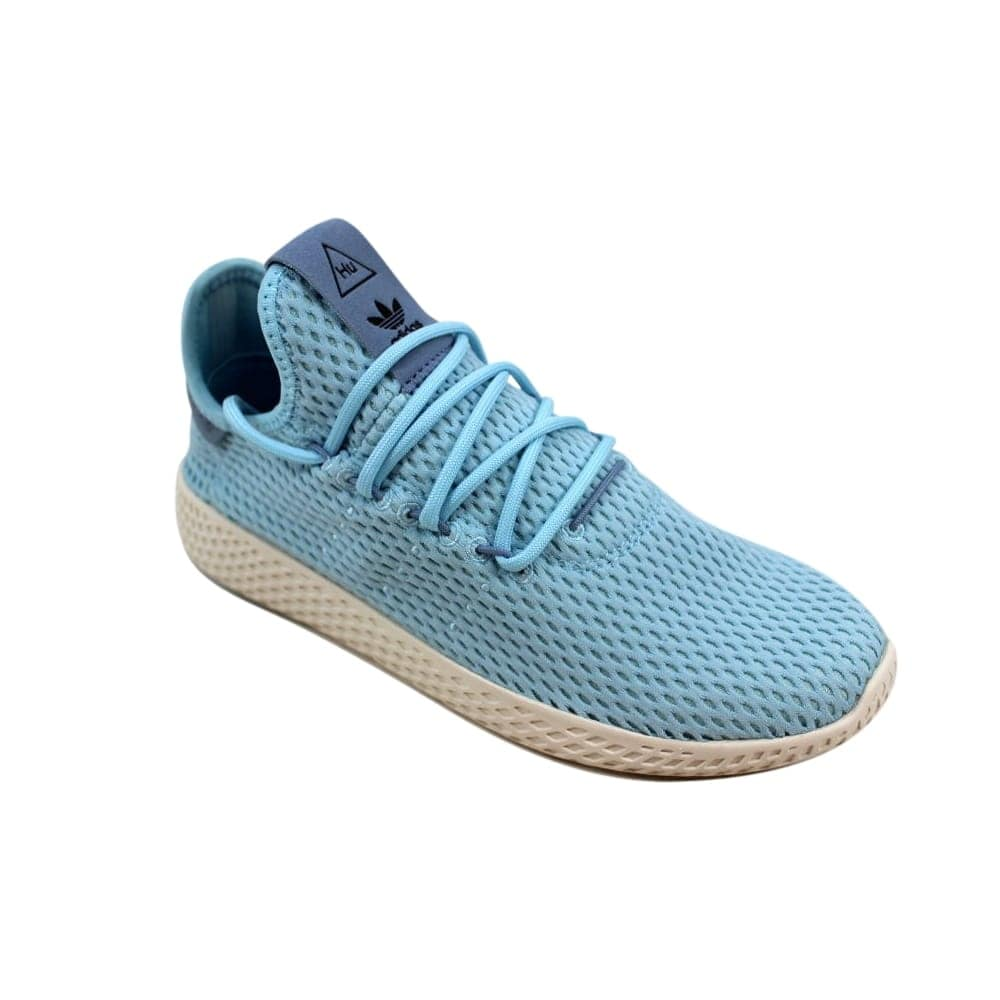 773915f64be96 Shop Adidas Pharrell Williams Tennis Hu J Ocean Blue White CP9802  Grade-School - Free Shipping Today - Overstock - 27601086