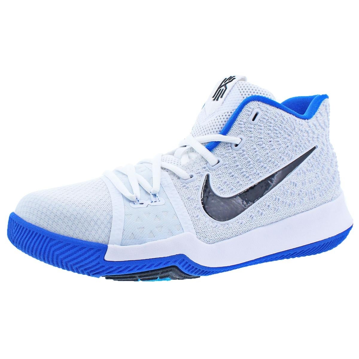 10bdc0b1fe2d Shop Nike Boys Kyrie 3 Basketball Shoes Colorblock Mids - Free Shipping  Today - Overstock - 22025161