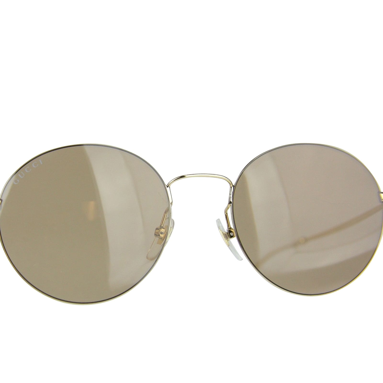 d72d0b38455 Gucci Unisex Round Gold Metal Sunglasses With Logo GG 4273 S 3YGMI 391327  8903 - One size