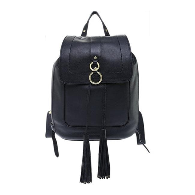 5c6200e543 Cole Haan Women s Cassidy Backpack Black Pebble Leather - US Women s One  Size (Size None)