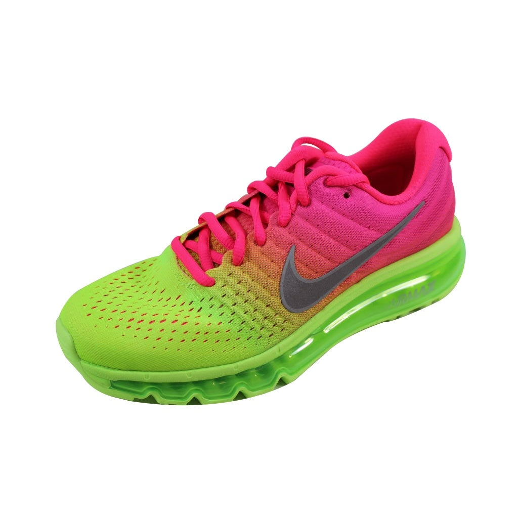 buy popular 7bd68 43a7f new nike air revaderchi  shop nike grade school air max 2017 racer pink  white ghost green 851623 601 free shipping