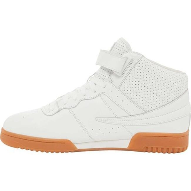 1b3b609c82bf Shop Fila Men s F-13 Fitness High Top White White Gum - Free Shipping Today  - Overstock - 20561494