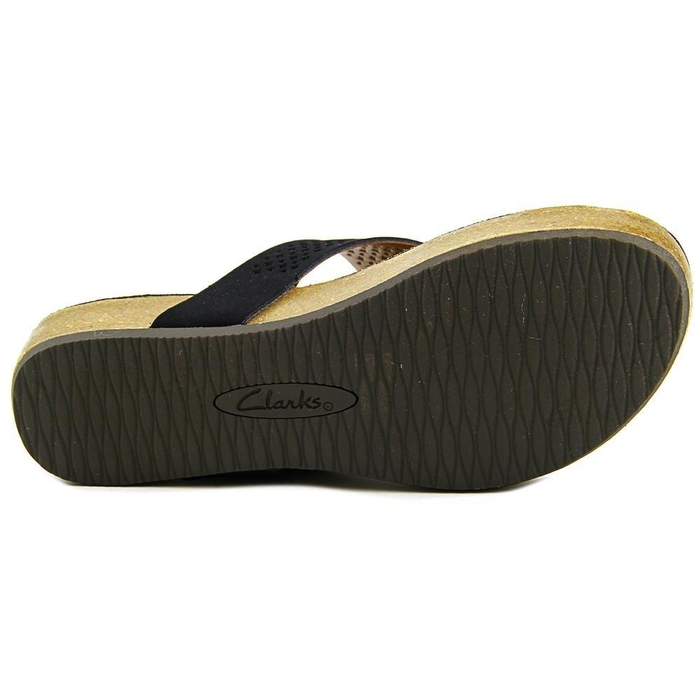 4e45248bf6b7 Shop Clarks Aeron Logan Women Open Toe Leather Black Thong Sandal - Free  Shipping On Orders Over  45 - Overstock.com - 15902264