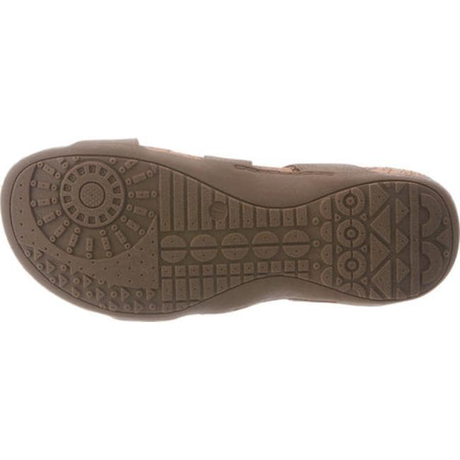 d5690a6e52f9 Shop Bearpaw Women s Maddie Sandal Bronze Synthetic - Free Shipping On  Orders Over  45 - Overstock - 14589662