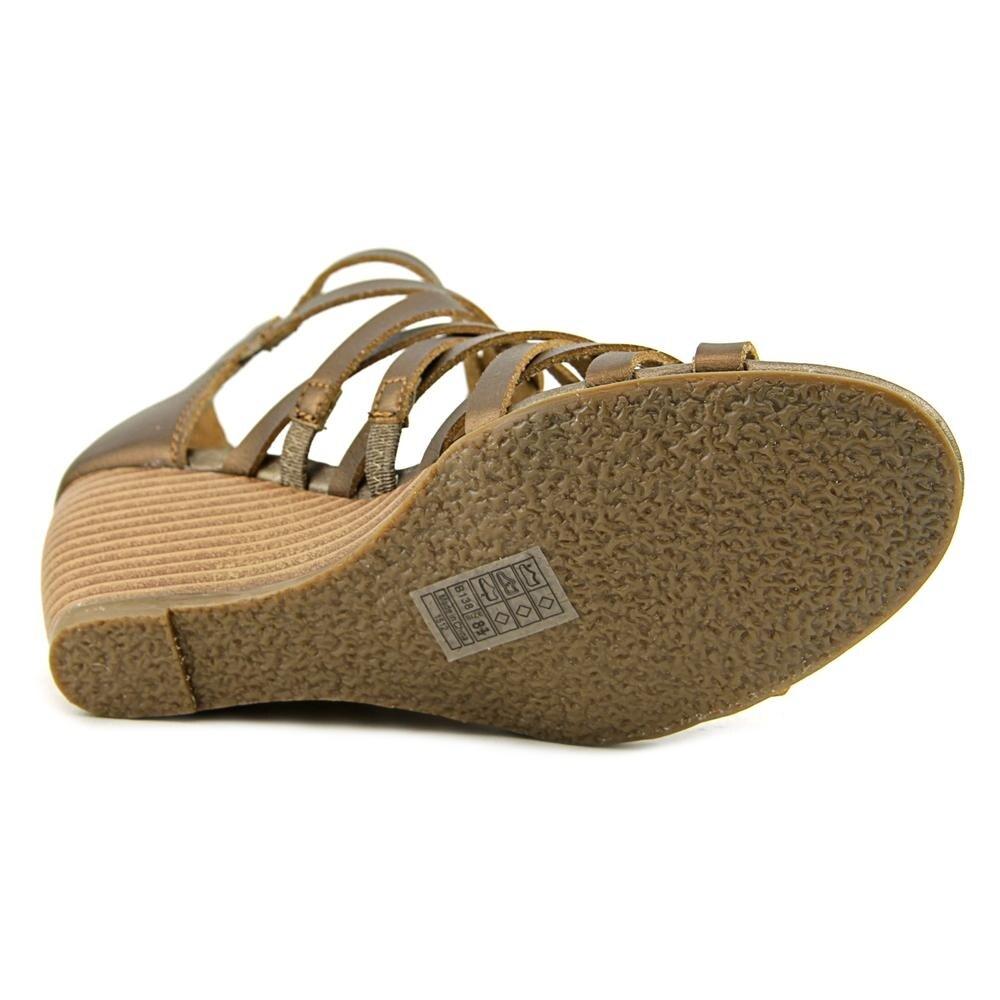 ec789ff3fc0e22 Blowfish Blip Women Open Toe Synthetic Bronze Wedge Sandal - Free Shipping  On Orders Over  45 - Overstock - 21177098