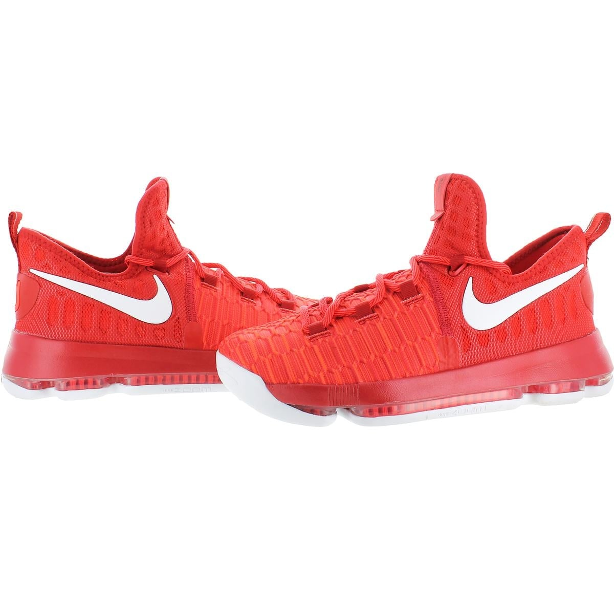 on sale 3f08a 7a55e Shop Nike Boys Zoom KD9 Basketball Shoes Big Kid Textured - Free Shipping  Today - Overstock - 21942304