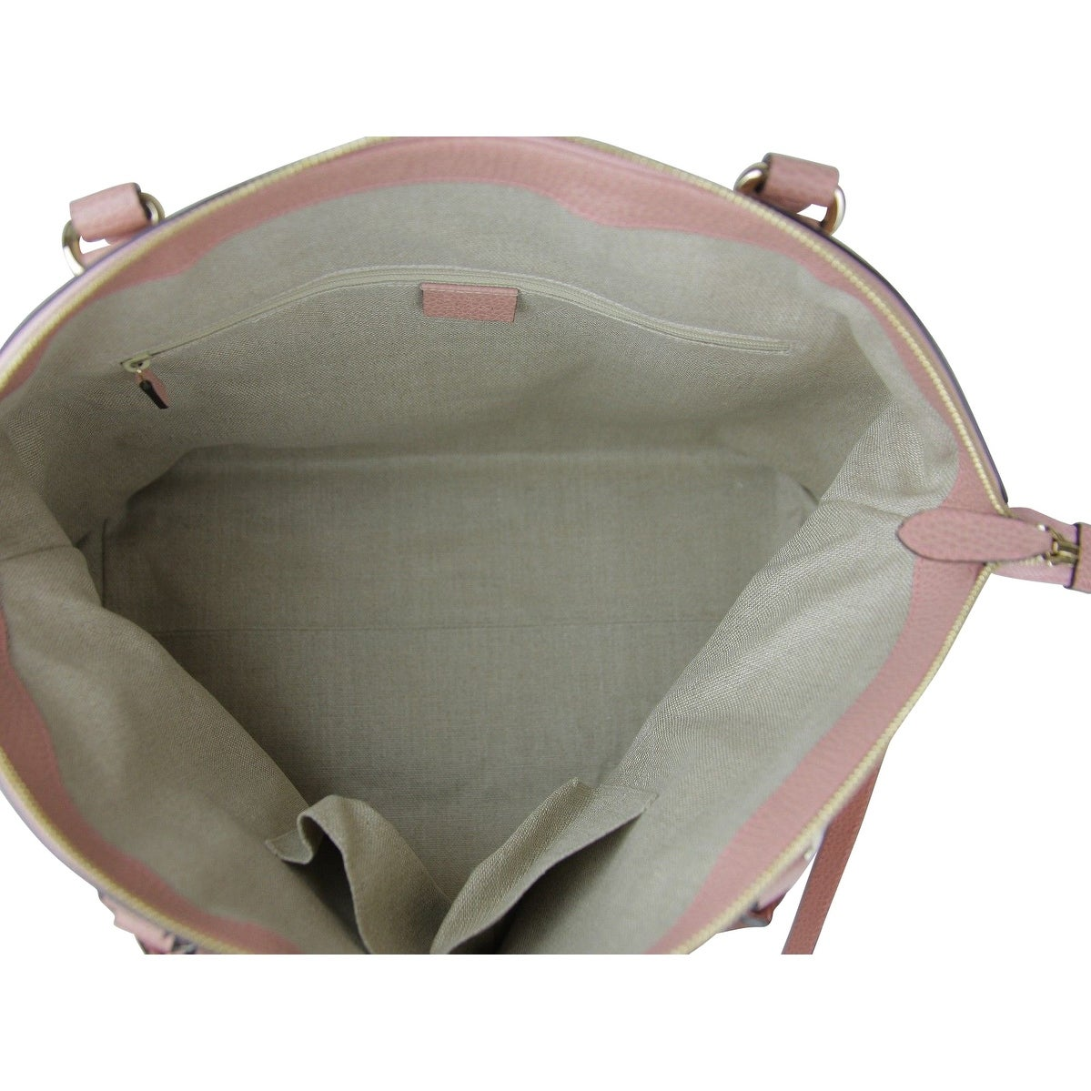 c8f4d10db Shop Gucci GG Charm Powder Pink Leather Large Convertible Dome Bag with Strap  449660 5806 - Free Shipping Today - Overstock - 27603269