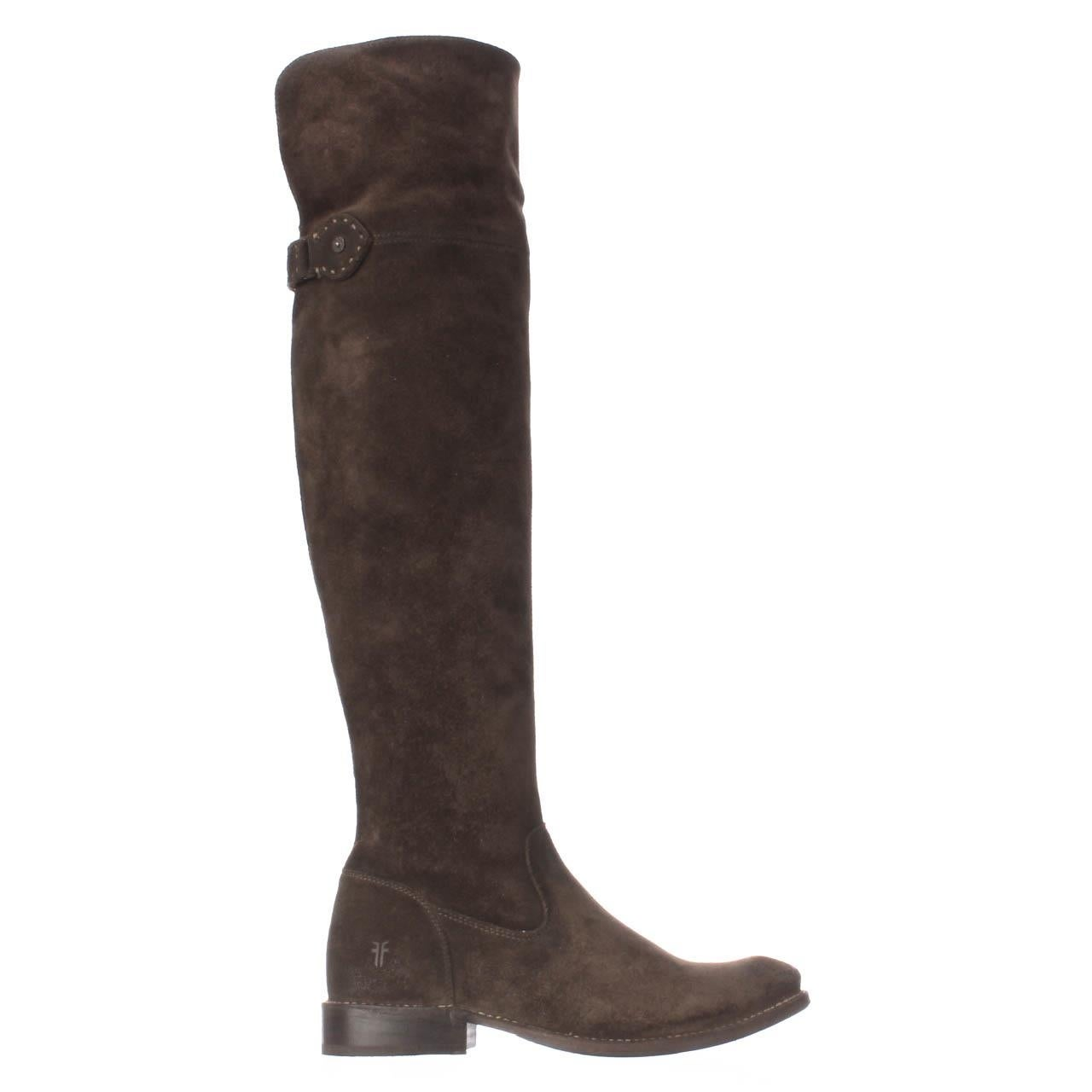 13034b4495a Shop FRYE Shirley Over-The-Knee Engineer Boots