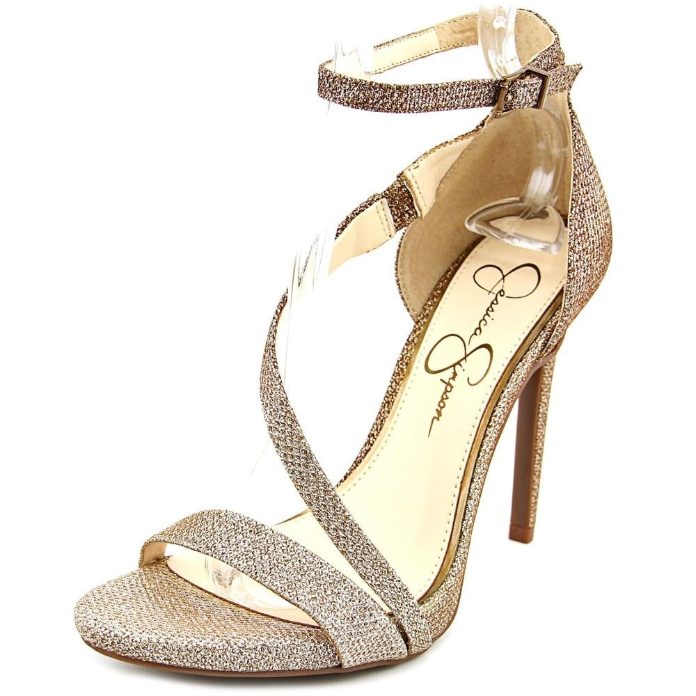 5fd22cef04 Shop Jessica Simpson Rayli Bronze/Silver Sandals - Free Shipping Today -  Overstock - 19759028
