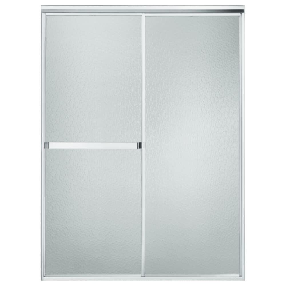 Shop Sterling 660b 52 Standard 65 X 52 Framed Sliding Shower Door