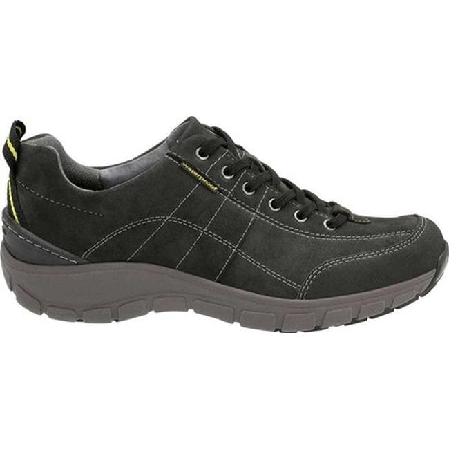 f765054896f Clarks Women's Wave.Trek Walking Shoe Black Leather