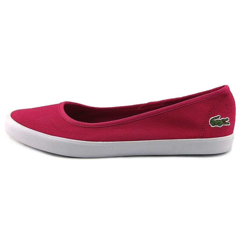bd49df6fd Shop Lacoste Marthe Women Round Toe Canvas Pink Flats - Free Shipping On  Orders Over  45 - Overstock - 17934904