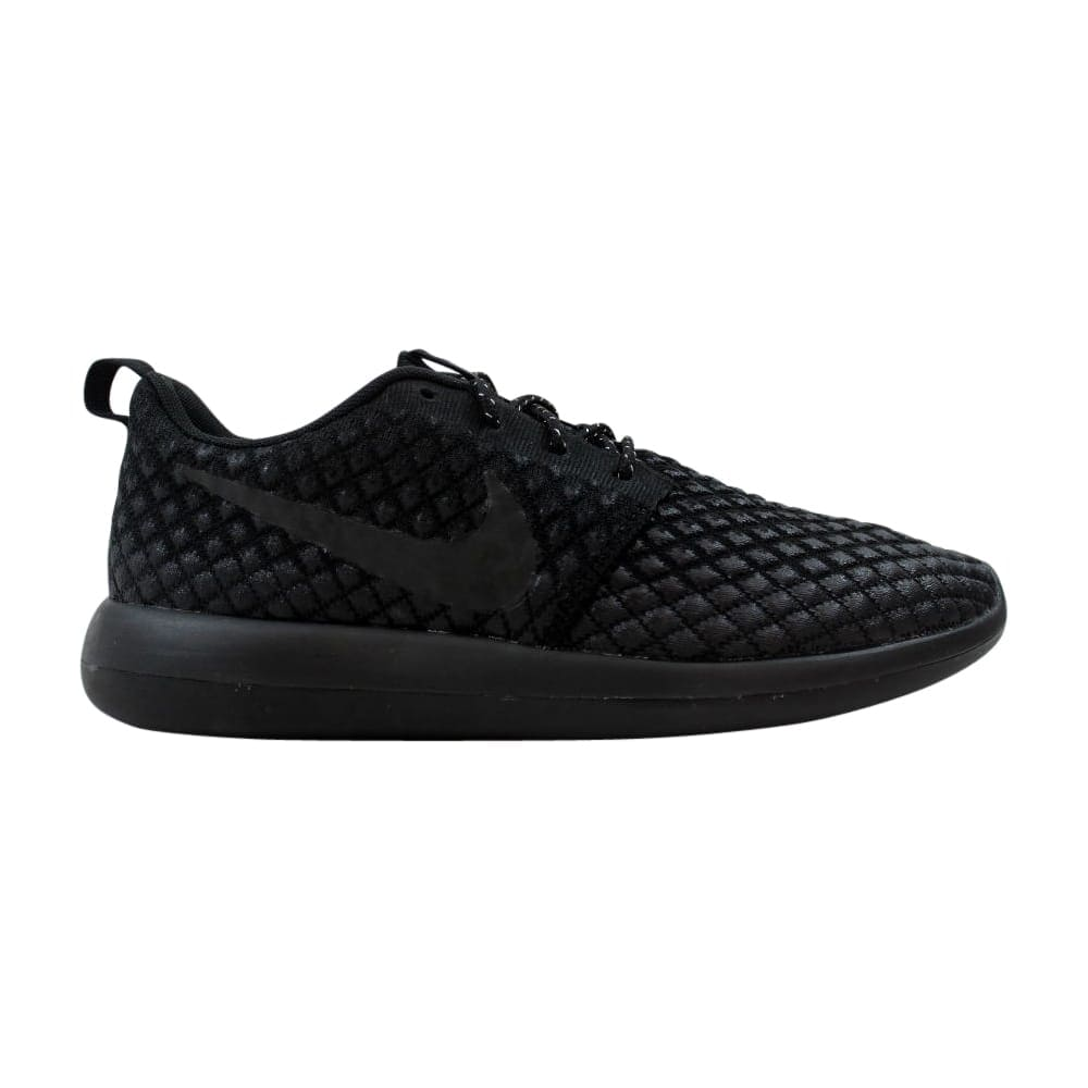 d455d630d8803 Shop Nike Roshe Two Flyknit 365 Black Black 859535-001 Men s - Free ...