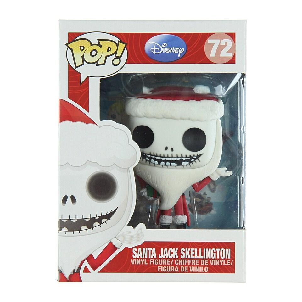Shop Funko Pop Nightmare Before Christmas Santa Jack Skellington ...