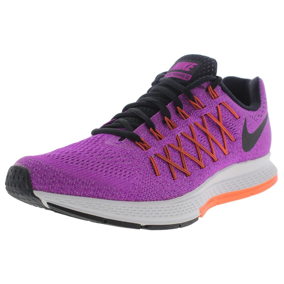 099f9ce33b806b Shop Nike Womens Air Zoom Pegasus 32 Running Shoes Mesh Laces - Free ...