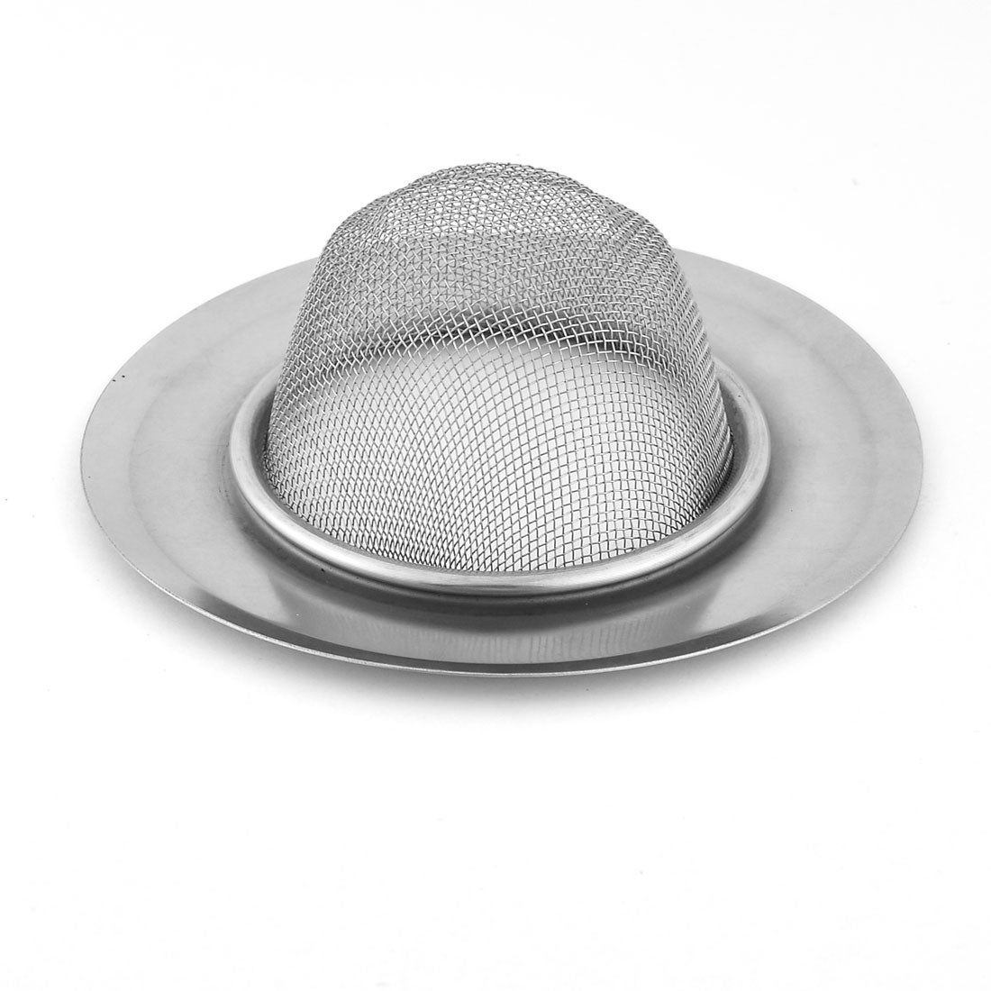 1b53d9beb48 Shop Household Mesh Basket Metal Round Sanitary Sink Drain Strainer Silver  Tone - On Sale - Free Shipping On Orders Over  45 - Overstock - 17587790