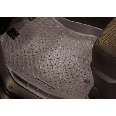 Shop Husky Classic 2006 2010 Jeep Commander Grey Front Floor Mats