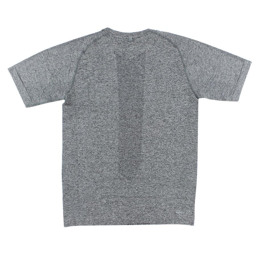 ba934b013 Shop Nike Mens Dri FIT Knit Short Sleeve Running Shirt Grey - S - Free  Shipping Today - Overstock - 22613164