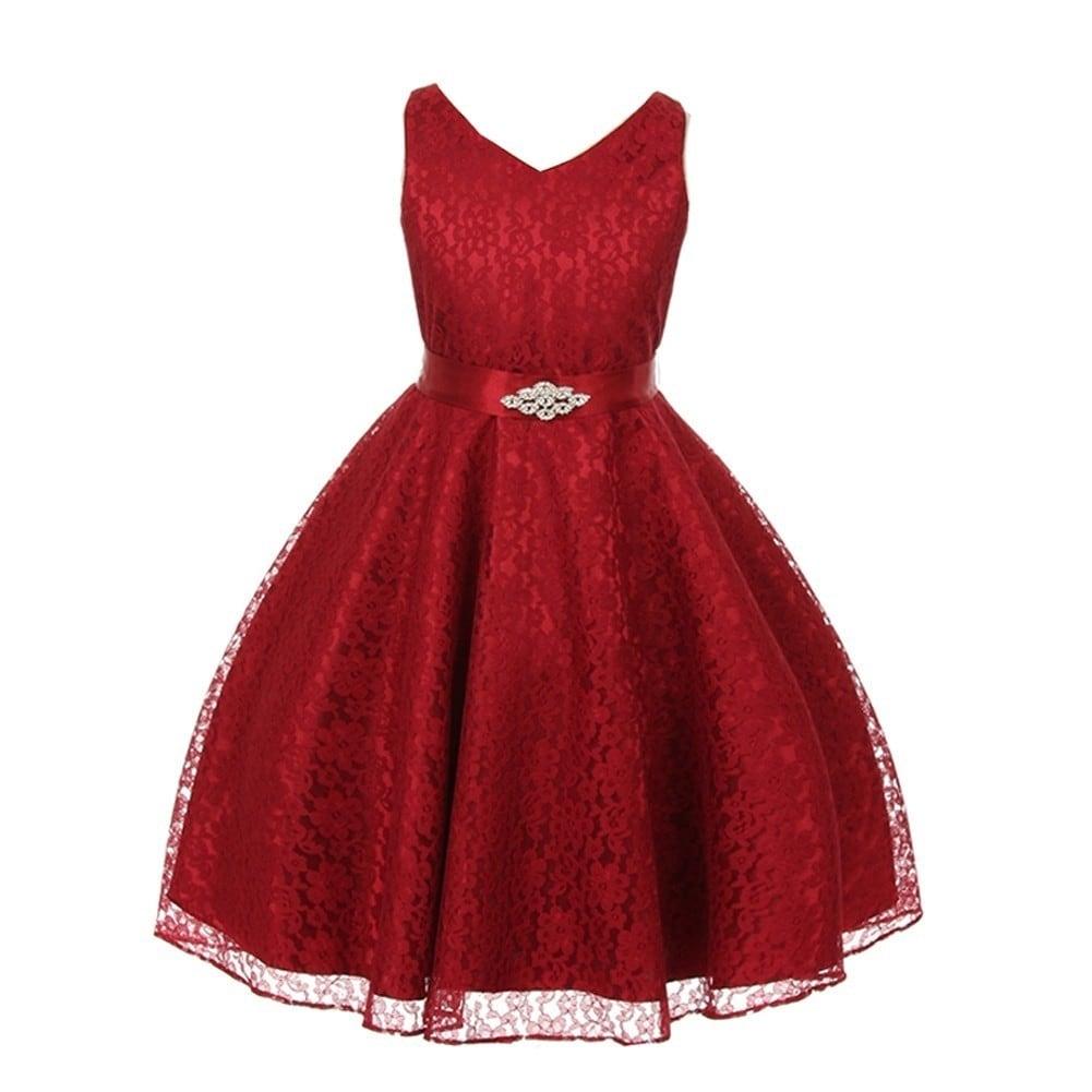 570cd4d97e0 Cheap Burgundy Flower Girl Dresses - raveitsafe