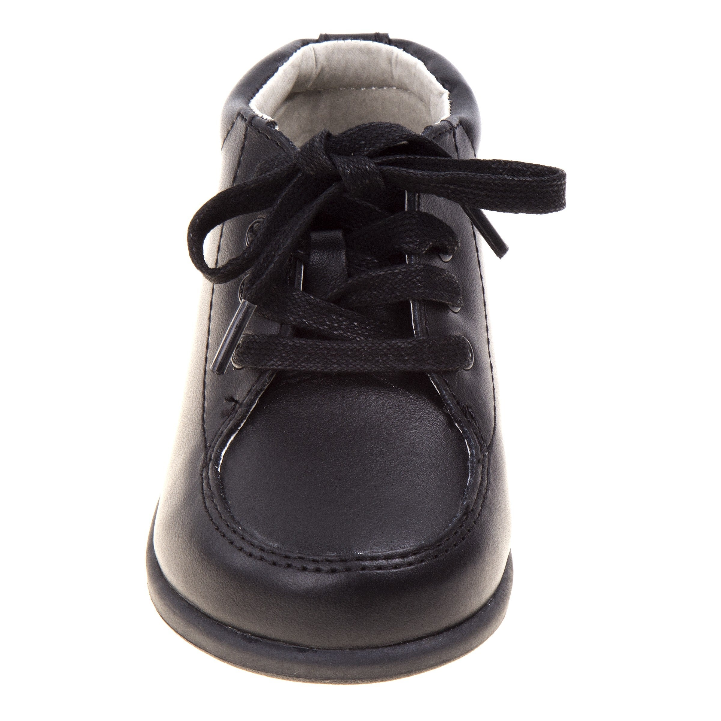 f2f402cc5cba Shop Smart Step Boys Black Lace Up Closure Medium Width Walking Shoes -  Free Shipping Today - Overstock - 25723815
