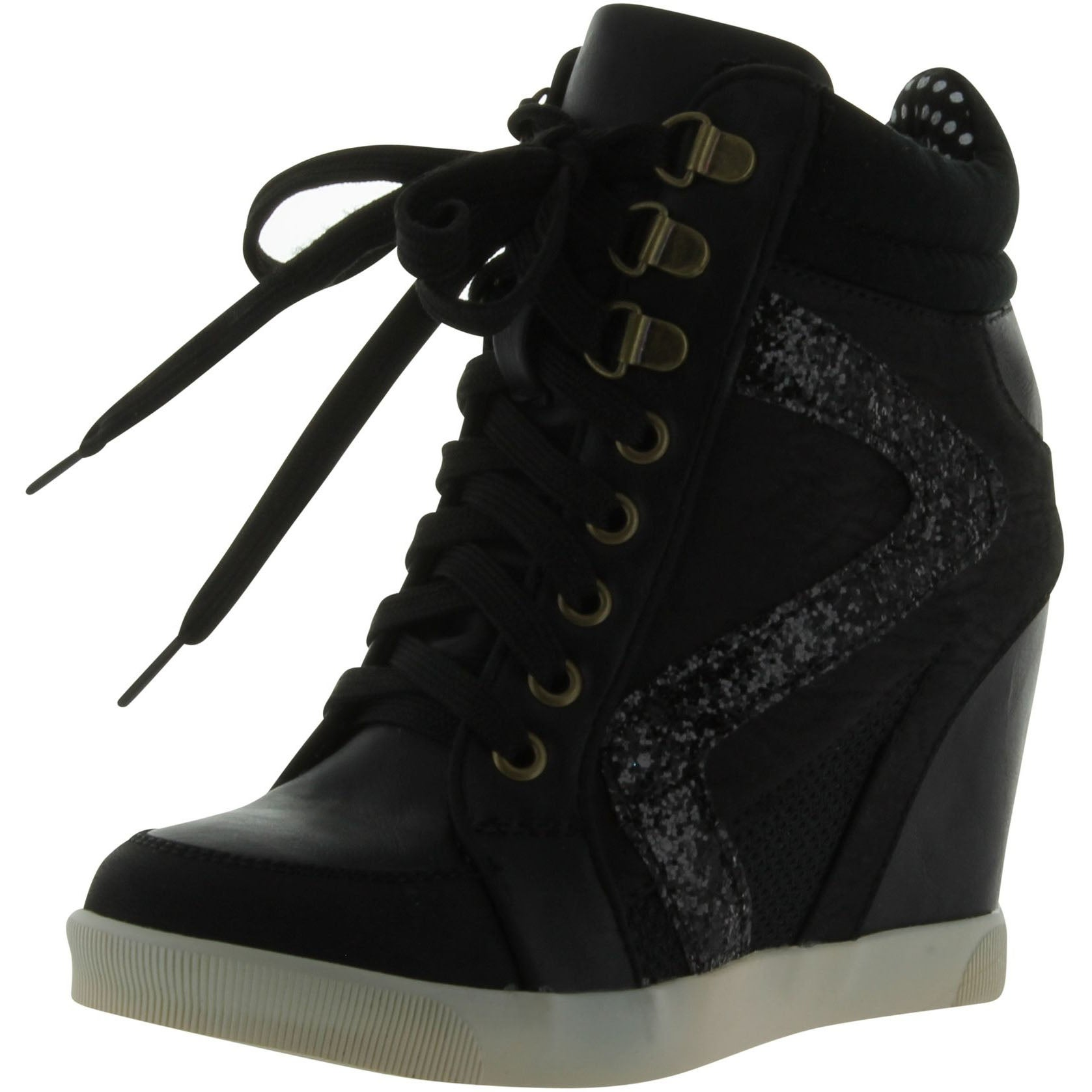 10668924952a Shop Bamboo Women Jodie-01 Fashion-Sneakers - Free Shipping On Orders Over   45 - Overstock - 14312236
