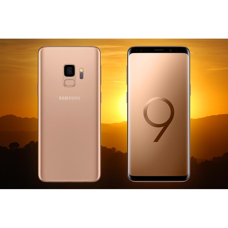 Samsung Galaxy S9 SM-G960U 64GB 4G LTE UNLOCKED (Verizon, AT&T, T-Mobile)  5 8