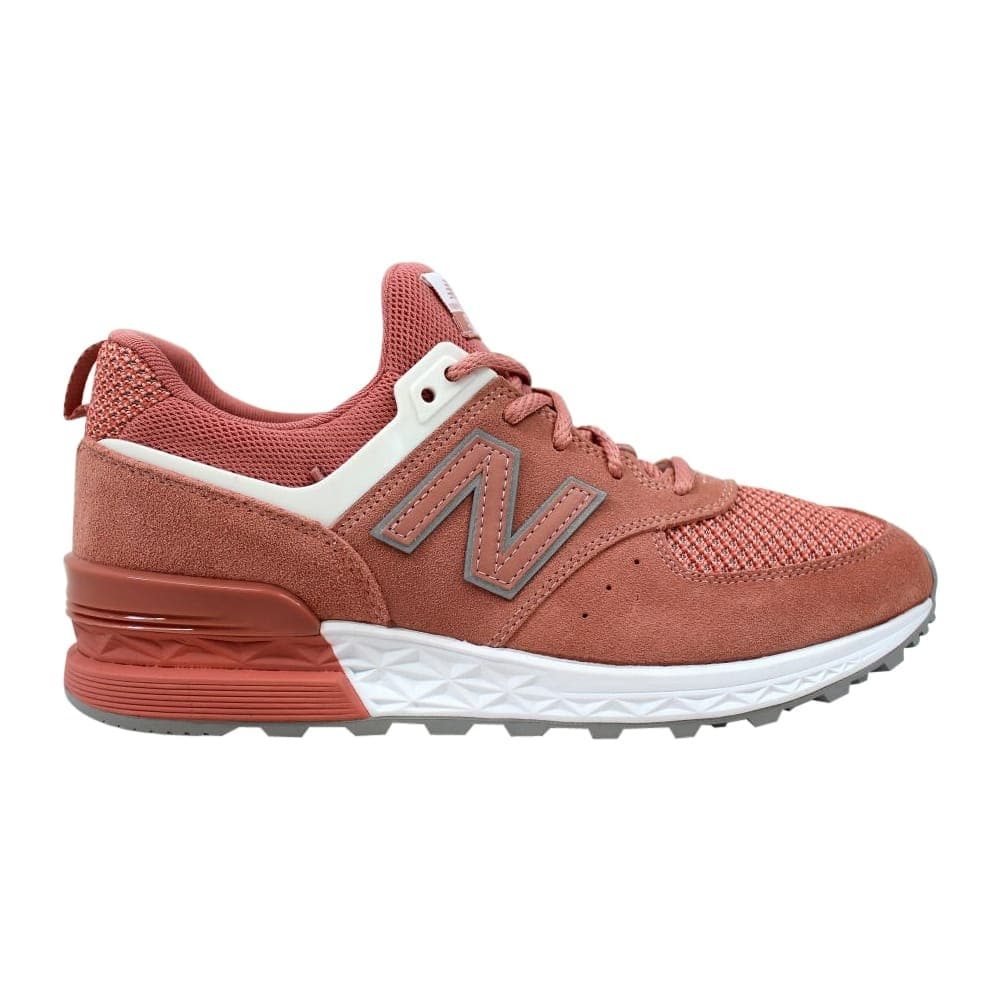 new concept 4b936 84921 New Balance Men's 574 Sport Dusted Peach/White MS574STP