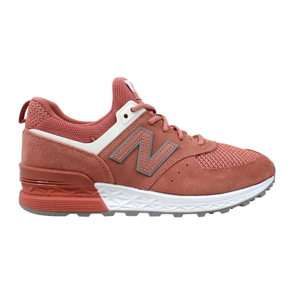 new concept 0a583 ac3a0 New Balance Men's 574 Sport Dusted Peach/White MS574STP