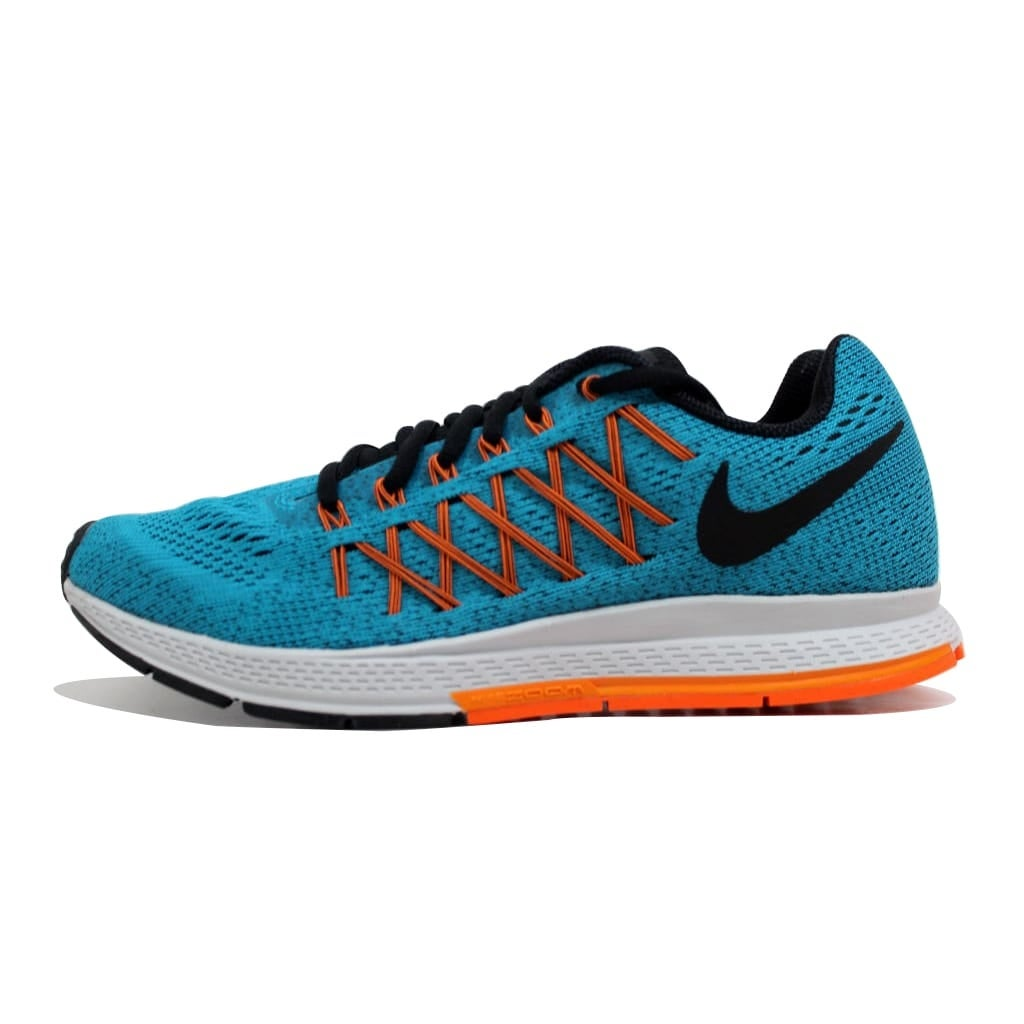 uk availability df0c9 9413b Shop Nike Men s Air Zoom Pegasus 32 Blue Lagoon Black-Bright Citrus-Total  Orange 749340-400 Size 6 - Free Shipping Today - Overstock - 20131457