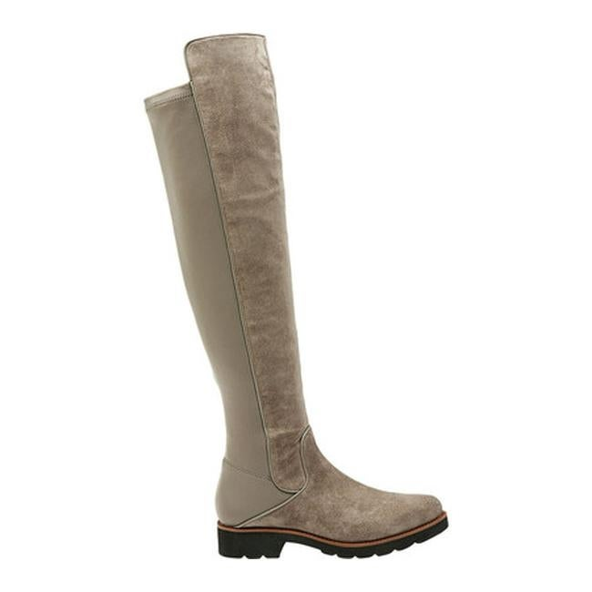 76799d615fe Shop Sarto by Franco Sarto Women s Benner Over the Knee Boot Warmstone  Leather Polyurethane - Free Shipping Today - Overstock - 19426584