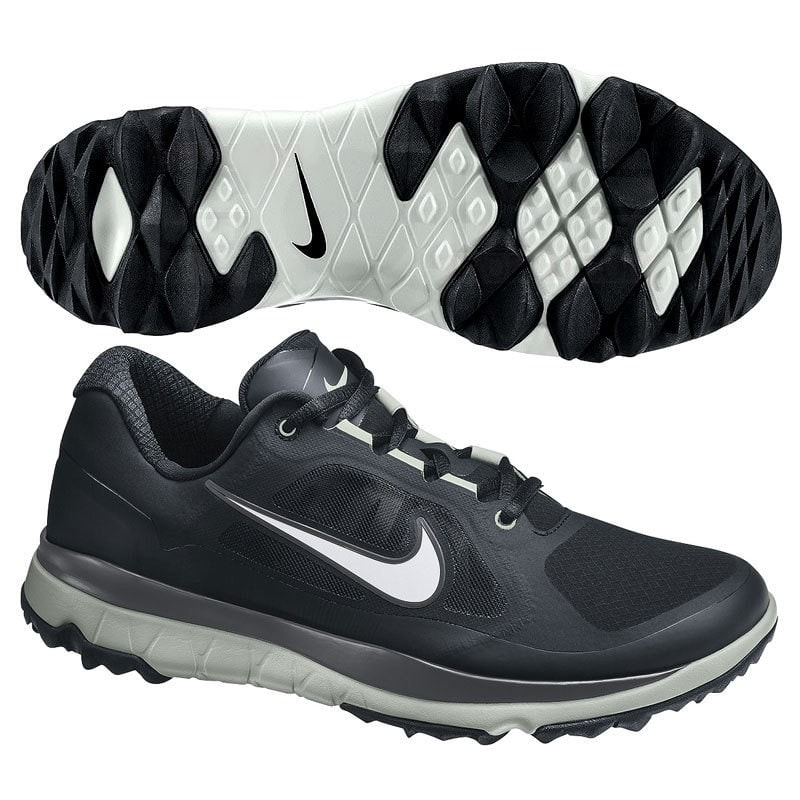 6e5f4e59df3ed Shop Nike Men s FI Impact Black Grey Silver Golf Shoes 611510-004 611511-004  - Free Shipping Today - Overstock - 19748358